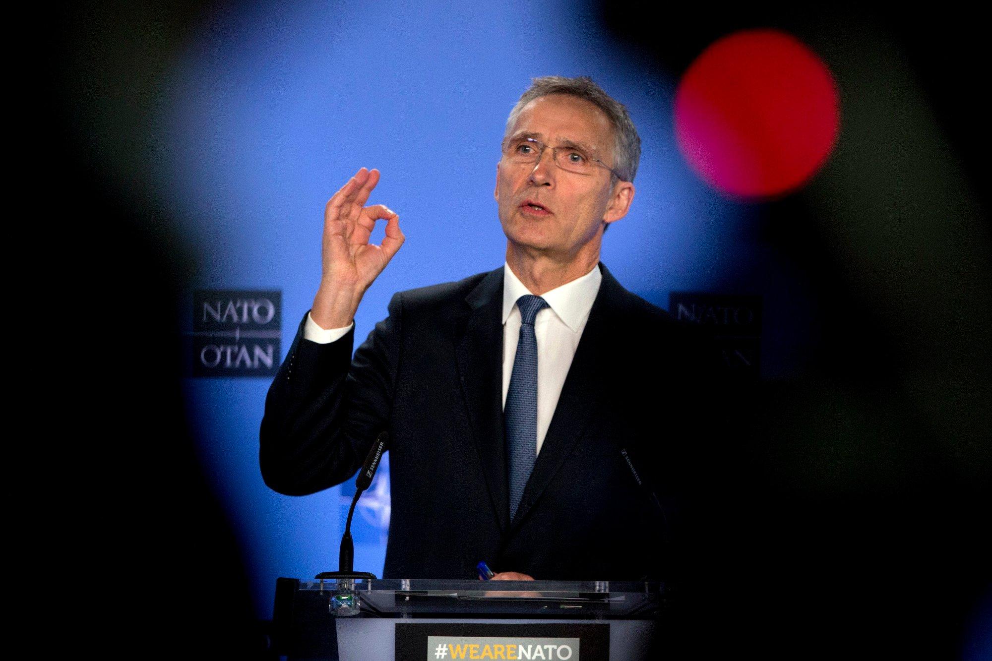 Hadia Tajik, Jens Stoltenberg | NATO-sjef Stoltenberg advarer mot  atomvåpenforbud fra Arbeiderpartiet