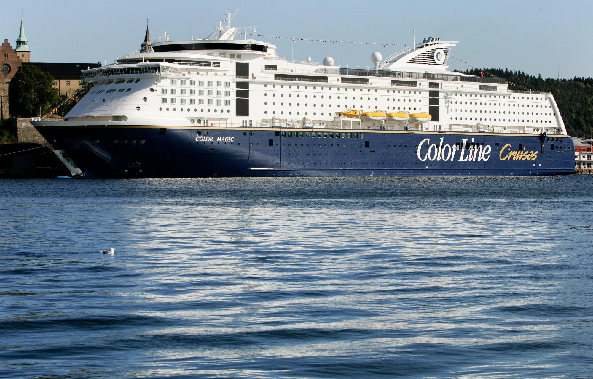 dfds ankomst oslo