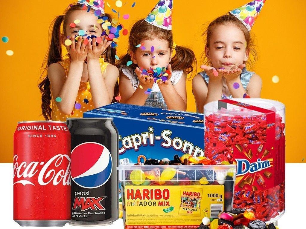 98eed7c3 BILLIG BRUS: Du kan spare mye penger på bursdagsselskapene ved å handle brus  og godteri fra tyske lavprisbutikken Yoolando.