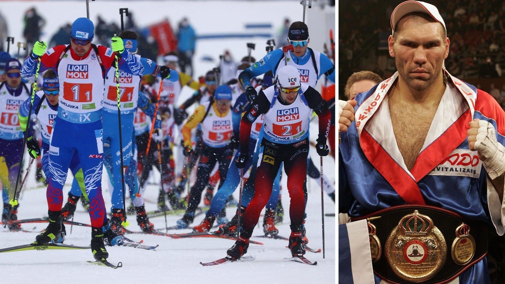 russiske skiskyttere damer