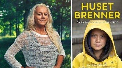 Bilde av Malena Ernmann og Greta Thunberg