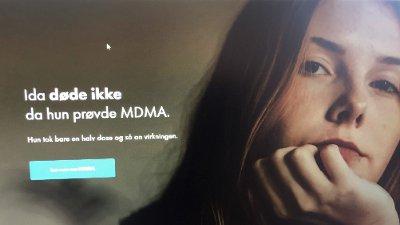 Bilde av en av reklameplakatene i kampanjen