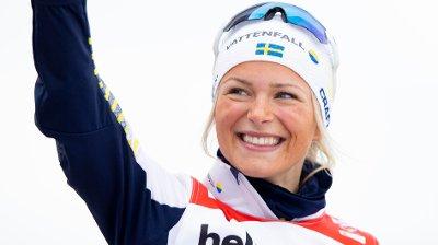 AVTALE MED NORTHUG: Frida Karlsson skal bruke Northug-briller.