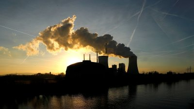 FILE PHOTO: The coal power plant