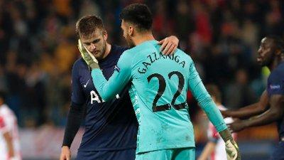 TILBAKE. Eric Dier spilte fra start da Tottenham møtte Røde Stjerne i Champions League.