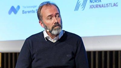 Trond Giske deltok fredag på mediekonferansen Svarte Natta i Tromsø.