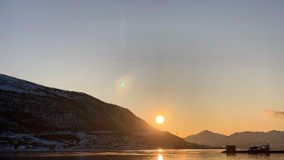 Tromsø er kanskje på sitt vakreste denne novembermåneden?