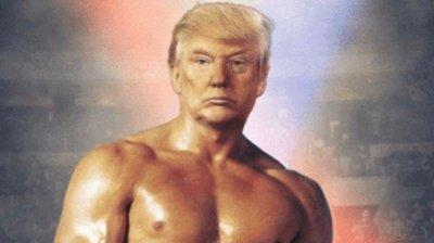 Trump overrasker med dette Twitter-bildet onsdag kveld.