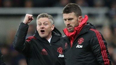 OPPFORDRING: Ole Gunnar Solskjærs assistent i Manchester United, Michael Carrick, har en klar beskjed til klubbens unge talenter.