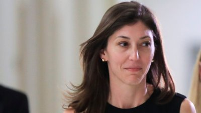 Lisa Page, Donald Trump Former FBI lawyer Lisa Page leaves following an interview with lawmakers behind closed doors on Capitol Hill in Washington, Friday, July 13, 2018.