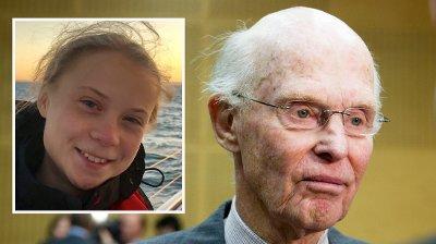 Greta Thunberg og Fred. Olsen.