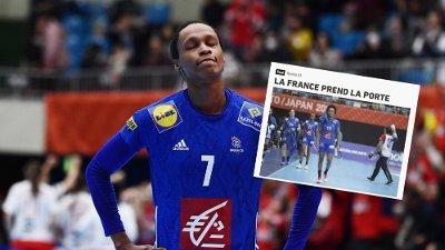 NEDTUR: Frankrikes nedtur i håndball-VM skaper store overskrifter i Frankrike.