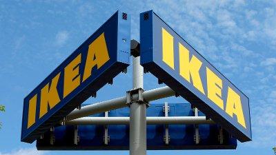 Ikea-logo. Illustrasjonsfoto: AP / NTB scanpix.