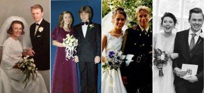 Seks ektepar har fortalt sin historie i en artikkelserie i Nettavisen.