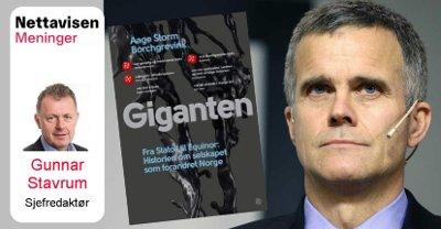 NETT PÅ SAK: Nettavisens redaktør Gunnar Stavrum anmelder boken om Statoil og Equinor.