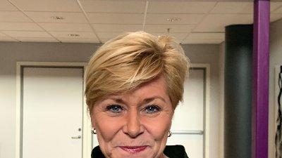 Frp-leder Siv Jensen åpnet Trøndelagsmøtet 9. januar.