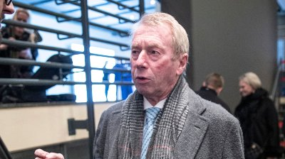 Oslo 20200108. Jens Ulltveit-Moe på NHOs årskonferanse i Oslo Spektrum.