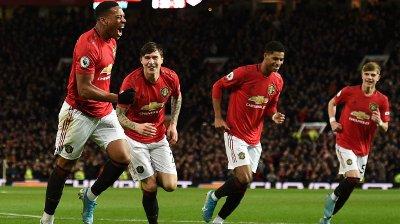 HERJET: Manchester United spilte på seg selvtillit mot Norwich.