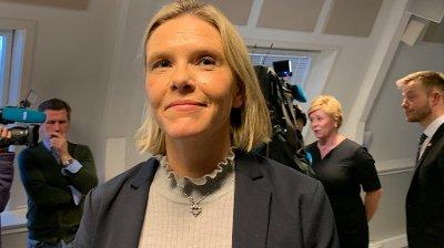 Sylvi Listhaug om Frps exit fra regjeringen.