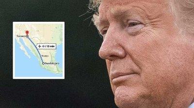 Trump-administrasjonen har bestemt seg for å fly ulovlige innvandrere langt inn i Mexico for å slå ned på den ulovlige innvandringen ved grensen.