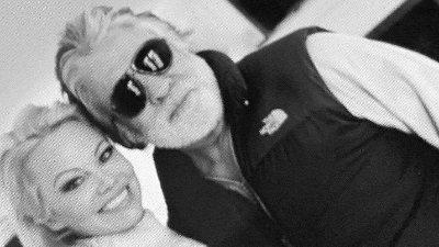 Pamela Anderson og Hollywood-produsenten Jon Peters var bare gift i 12 dager. Etter at de ble gift, la Pamla Anderson ut dette bildet på sin Instagram-konto med teksten