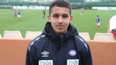 AMBISIØS: Osame Sahraoui har allerede landskamper for Marokko på U20-nivå.