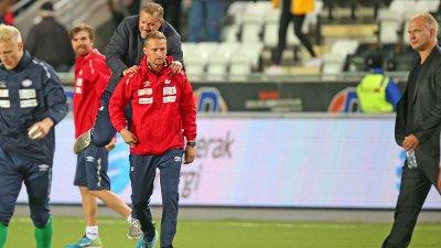 FERDIG: Johannes Moesgaard, som blant annet har vært i Vålerenga med Kjetil Rekdal er ferdig.