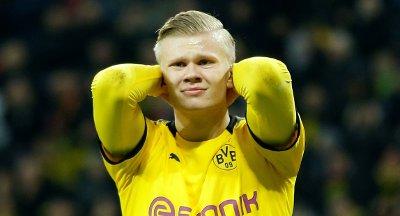 SPARES?: Erling Braut Haaland kan gå glipp av Dortmund-kamp.