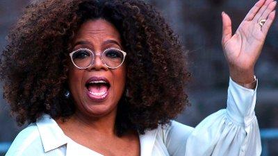 Oprah Winfrey rammes av illesinnede rykter. Her på åpningen av et museum i New York i 2019.