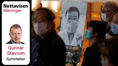 vignett korona kina Li Wenliang Nett på sak