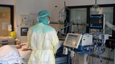 Koronapandemien har ført til store omlegginger på norske sykehus, som er blitt satt i beredskap for å håndtere virusutbruddet. Bildet er fra Bærum sykehus.
