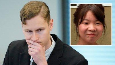 Rettsak mot terror- og drapstiltalte Philip Manshaus Sandvika 20200513. Terror- og drapstiltalte Philip Manshaus i rettssalen i Asker og Bærum tingrett i Sandvika. POOL