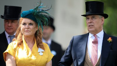 Royal Ascot - Day Four - Ascot Racecourse Sarah, Duchess of York and The Duke of York arriving during day four of Royal Ascot at Ascot Racecourse.