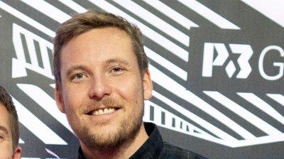 P3 Gull 2019 Oslo 20191130. Niklas Baarli ankommer rød løper under P3 Gull 2019 på NRK Marienlyst lørdag.