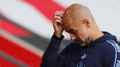 KLAR TALE: Pep Guardiola mener hans Manchester City-lag blir å se i Champions League også neste sesong.