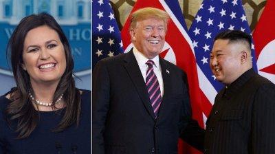 - Kim Jong-un la an på deg! Det gjorde han! Han la faen meg an på deg! skal president Donald Trump har sagt etter møtet mellom Sarah Sanders og Kim Jong-un.