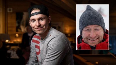 Norwegian skier Henrik Kristoffersen poses for a photograph on February 7, 2020 in Les Houches, in the French Alpes.