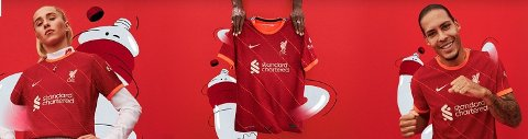 Liverpools nye netbutikk i Norge gir deg et stort utvalg.