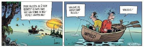 Pondus på fisketur.