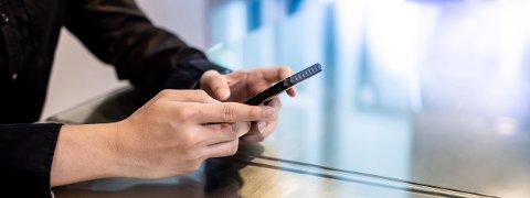 Det er behagelig å handle fra mobil eller datamaskin hjemmefra.