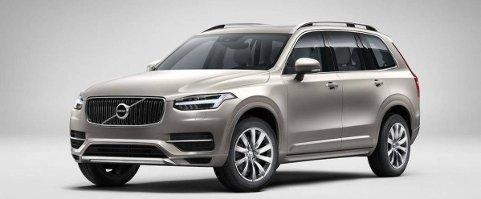 Her er den helt uten kamuflasje: Volvos nye stor-SUV XC90.