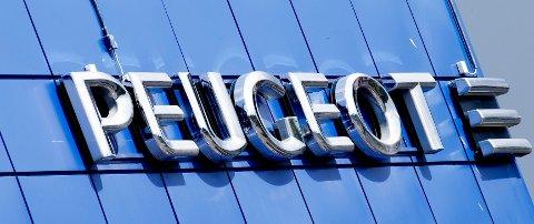 GÅR SAMMEN: Franske Peugeot ser ut til å havne sammen med Fiat Chrysler. Foto: Gorm Kallestad / NTB scanpix