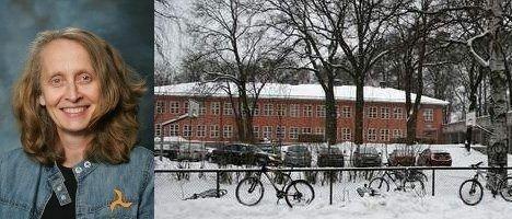 Rektor Berit Hetland på Berg vgs. forsvarer skolens feiring av avgangselevene på hotell, selv om det blir dyrt for elevene.