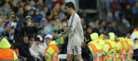 SKADET: Cristiano Ronaldo går glipp av cupfinalen.