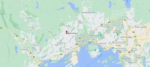 KRITISK: En person er kritisk skadet etter en arbeidsulykke i Bærum.
