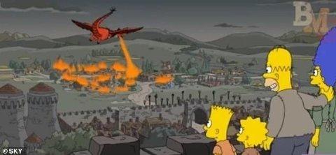 THE SERFSONS: Game Of Thrones-fansen er målløse etter å ha sett siste episode, da den er slående lik denne The Simpsons-episoden fra 2017.
