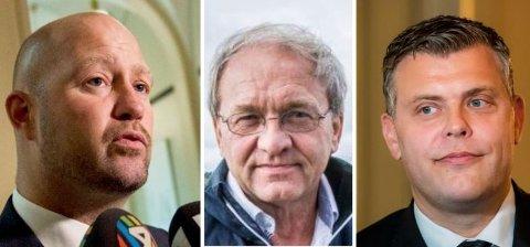 LOBBYKAMERATENE: Ordførerkandidat Per Manvik (Frp) skryter av hvordan tidligere justisminister Anders Anundsen (Frp) ble hyret inn for å påvirke nåværende justisminister Jøran Kallmyr (Frp).