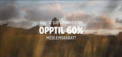 Nå har Anton Sport ville priser for ull- og superundertøy fra merker som Johaug, Devold, Odlo, Swix og Kari Traa.