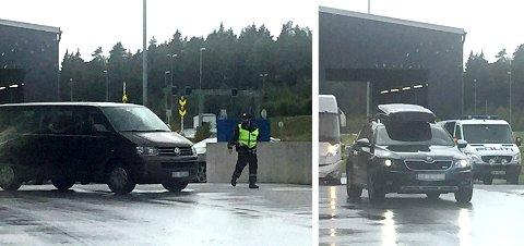 Deler av torsdag ble alle biler på vei over grensen på Svinesund kontrollert av politiet i en målrettet territorialkontroll.
