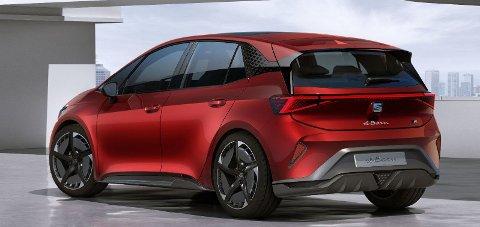BILLIG ELBIL: Seats elbil el-Born (bildet) sies å skulle bli rimelig, men selskapet avslører at de har planer om å bygge en vesentlig billigere elbil enn det.